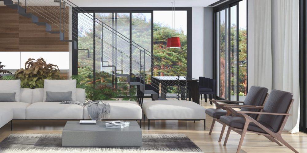 Uși culisante locuință Barrier de până la 10m. Uși batante - culisante pentru un grad ridicat de confort. Uși interior culisante variate.